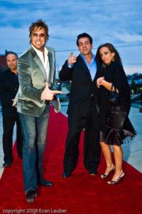 Jon, Chuck Zito and Friend