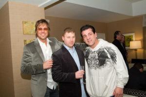 Jon , Kevin Leckner and Chuck Zito