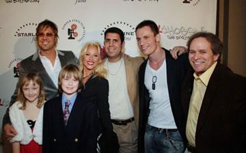 Jon, Amber & Austin Williams, Rachael Robbins, Joe Valenti, Keith Collins, and James Croft