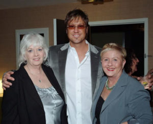 Pam Walker, Jon and Betsy Chapel