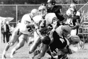 Football Senior Year - Fall 1988