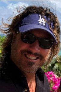Jon Doscher Smiling LA Visor