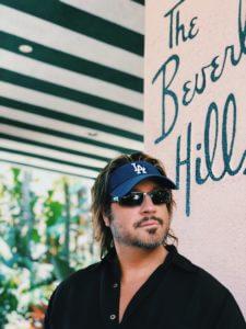Jon Doscher at The Beverly Hills Hotel