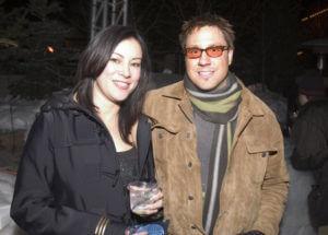 Jon Doscher and Jennifer Tilly