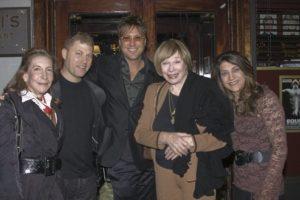 Jon Doscher at Sardi's with Shirley MacLaine