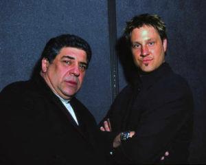 Jon Doscher and Vincent Pastore